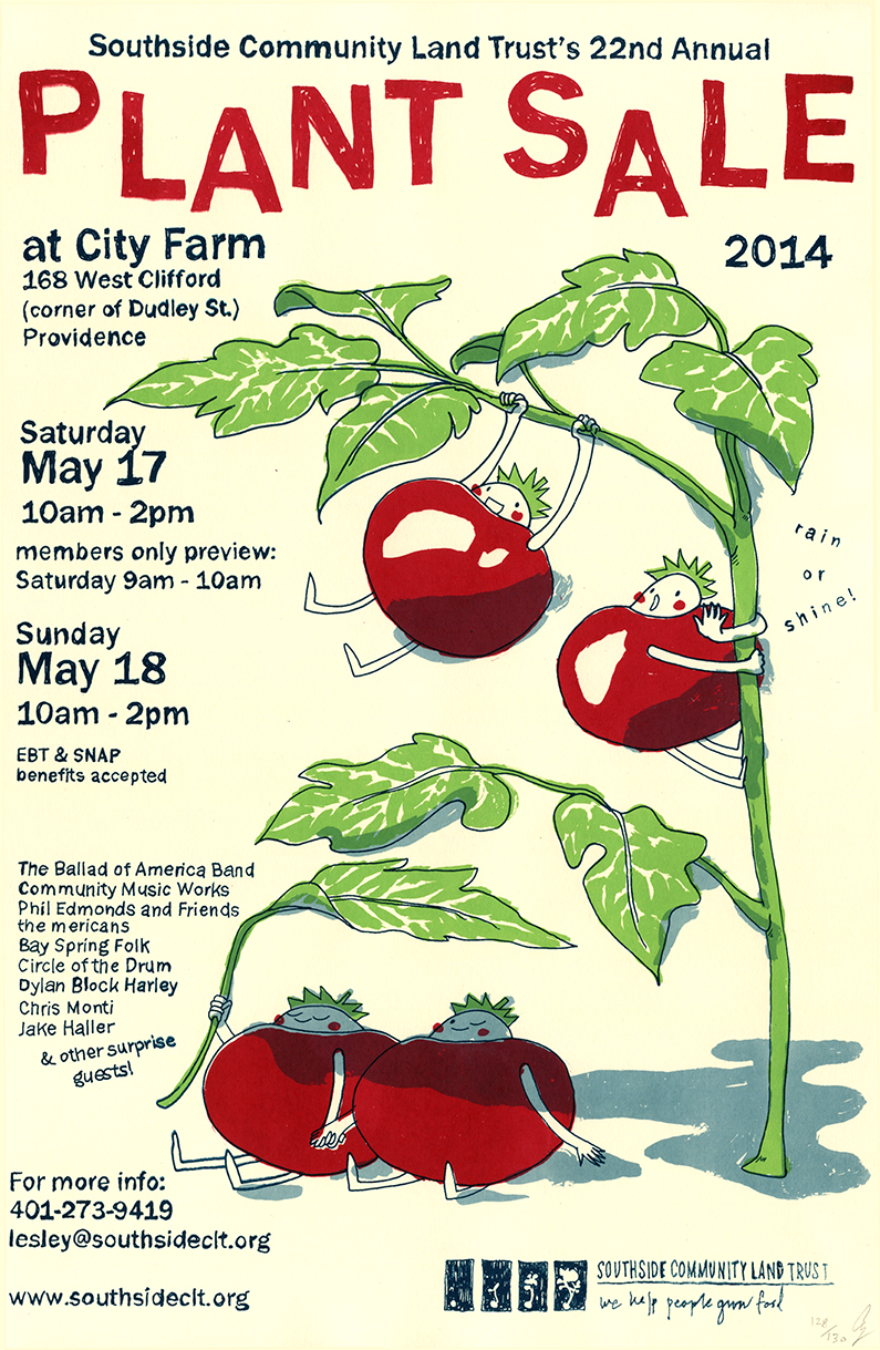 Presenting...Plant Sale Poster!